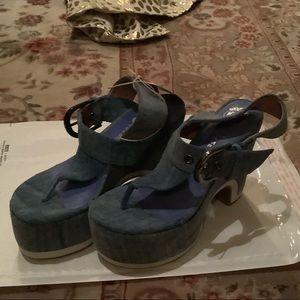 NWOT Jeffrey Campbell Havana platform Sandals 6